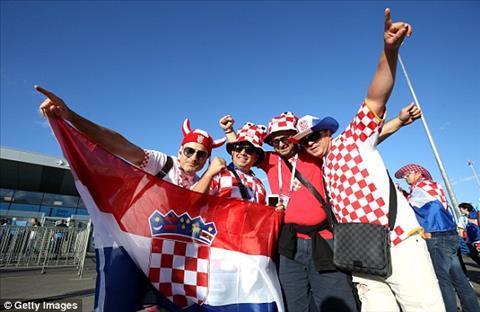 Cac CDV Croatia cung rat phan khich truoc cuoc so tai voi Argentina.