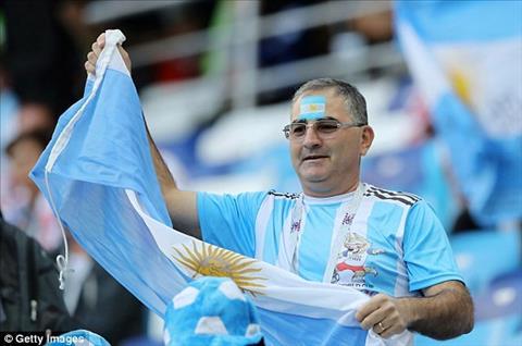 Bong da nhu mot thu ton giao voi nguoi Argentina.
