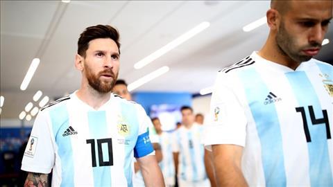 Lionel Messi tat nhien la tam diem cuoc doi dau giua Argentina vs Croatia.