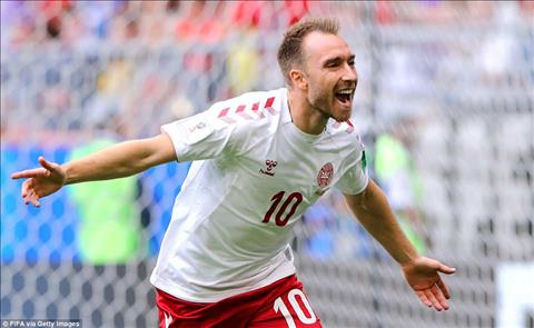 Đan Mạch 1-1 Australia Eriksen tỏa sáng trong đội hình phản diện hình ảnh