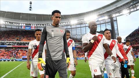 Mot ngay that vong voi dai dien Nam My khi Phap loai Peru khoi World Cup 2018 bang chien thang toi thieu 1-0.