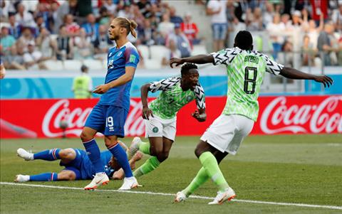 Điều gì khiến ĐT Iceland thất bại trước Nigeria hình ảnh