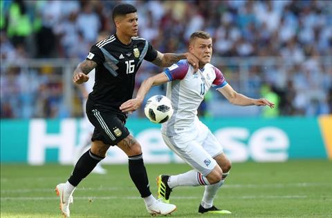 Argentina vs Iceland Finbogason