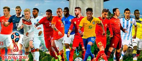 Bài dự thi WC 2018 World Cup như một cuốn tiểu thuyết hình ảnh