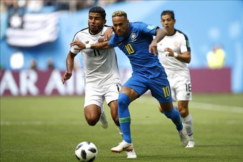 Brazil thang Costa Rica 2-0 Neymar