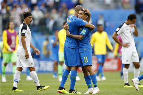 Brazil vuot qua Costa Rica