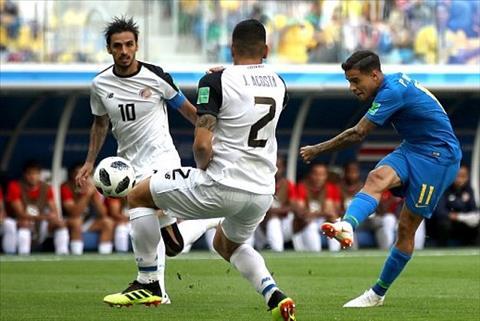Coutinho dut diem tu xa cho Brazil
