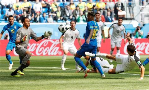 Dư âm Brazil vs Costa Rica Siêu nhân và siêu sao hình ảnh