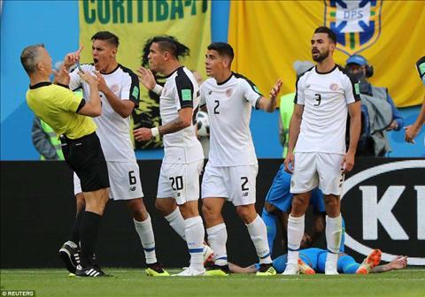 HLV Oscar Ramirez phát biểu về trận Brazil vs Costa Rica hình ảnh
