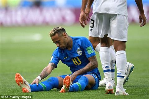 Neymar bi pham loi nhieu