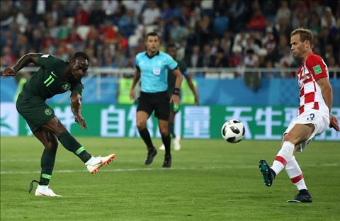 Nigeria cua Moses dut diem yeu kem
