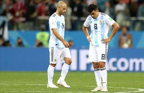 DT Argentina tham bai truoc Croatia
