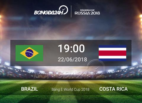 Nhận định Costa Rica vs Brazil và dự đoán vàng trên Bongda24hvn hình ảnh