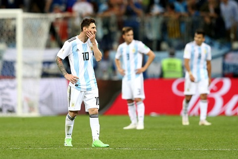 Những thống kê Argentina vs Croatia 0-3