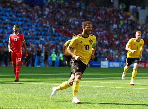 Hazard Bi vs Tunisia