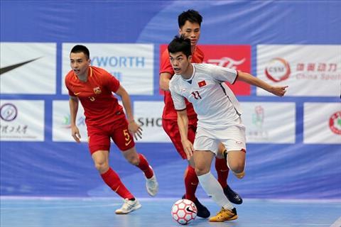 ĐT Futsal Việt Nam 'hủy diệt' Trung Quốc ở giải Tứ hùng hình ảnh