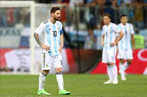 Messi cung DT Argentina