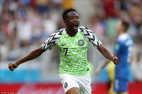 Những điểm nhấn sau trận Nigeria vs Iceland hình ảnh