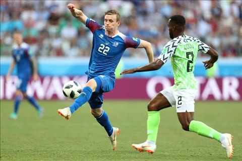 Nigeria Vs. Iceland Idowu