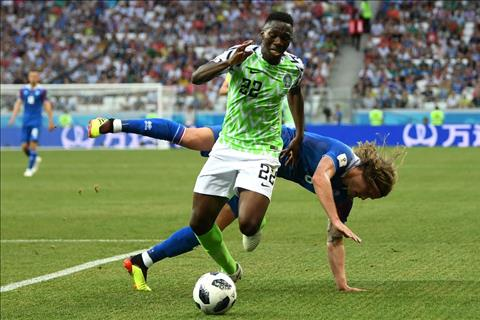 Nigeria Vs. Iceland Omeruo