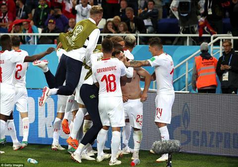 Xherdan Shaqiri phát biểu về trận Serbia vs Thụy Sỹ hình ảnh
