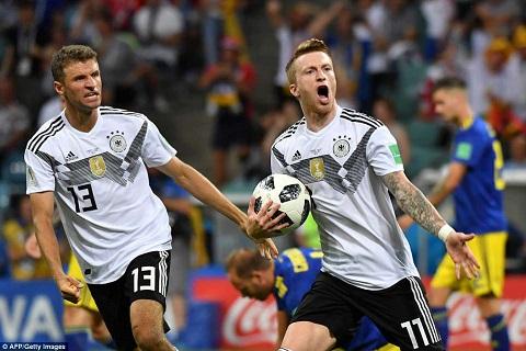 Đức ngược dòng kinh dị Ngày về của Marco Reus hình ảnh 2