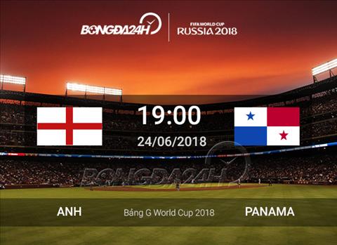 Lịch thi đấu bóng đá hôm nay 24-6-2018 và rạng sáng ngày mai hình ảnh
