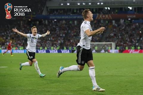 Kroos đáp trả chỉ trích sau trận thắng Thụy Điển