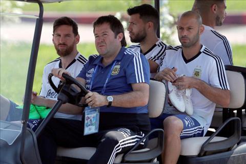 Nội bộ tuyển Argentina đang rối như canh hẹ hình ảnh