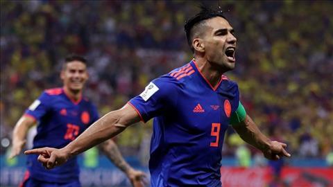 Radamel Falcao ghi ban nhan doi cach biet cho DT Colombia.