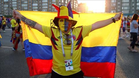 Hinh anh an tuong ve mot CDV Colombia.