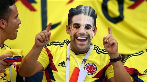 CDV Colombia deo mat na Falcao voi hy vong manh ho se toa sang trong tran nay.