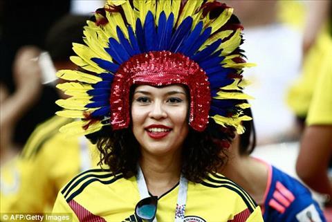 Chiec mu an tuong cua mot CDV nu Colombia.