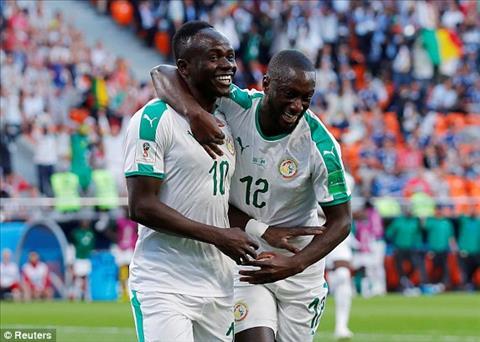 Sadio Mane ghi ban mo ti so cho DT Senegal nho mot chut may man.