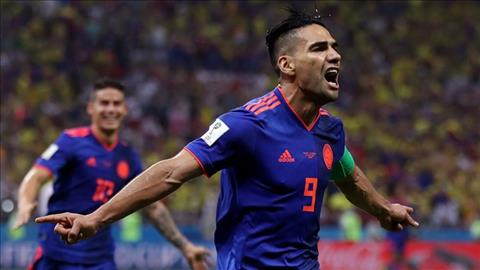 Falcao ghi ban nhan doi cach biet cho DT Colombia.