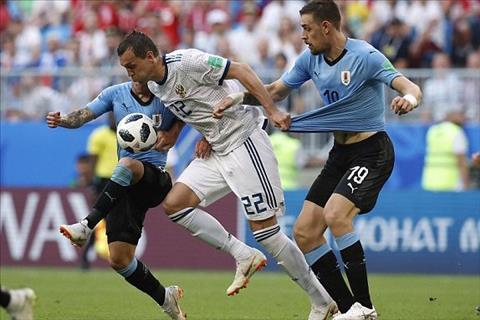 Dư âm Uruguay vs Nga không thể thiếu bộ đôi Torreira và Vecino hình ảnh
