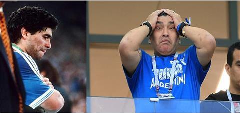 Bài dự thi Ấn tượng World Cup 2018 Giọt nước mắt lặng câm của Maradona hình ảnh