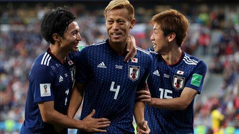 No luc ben bi giup Keisuke Honda ghi ban an dinh ti so hoa 2-2, dua Nhat Ban chia diem Senegal.