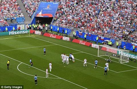 Suarez da phat thanh ban cho Uruguay
