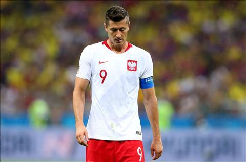 Bi loai khoi World Cup 2018,  Robert Lewandowski che cau thu Ba Lan thiet chat luong.