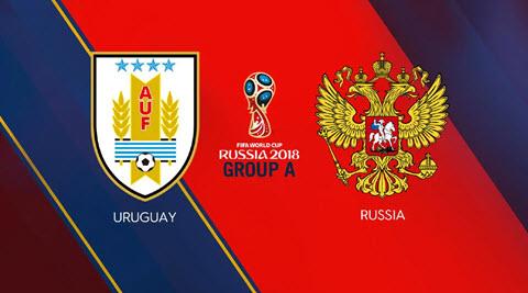 Xem trực tiếp Nga vs Uruguay bảng A World Cup 2018 hình ảnh