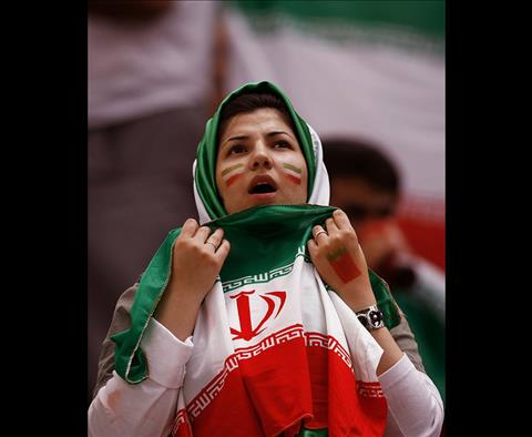 Mot CDV nu Iran tai World Cup 2018 dung co de thay the cho khan trum dau.