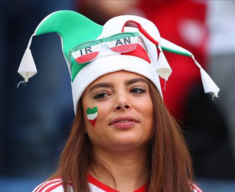 Mot CDV nu Iran tai World Cup 2018 khac doi mu co dong thay vi khan trum dau truyen thong.