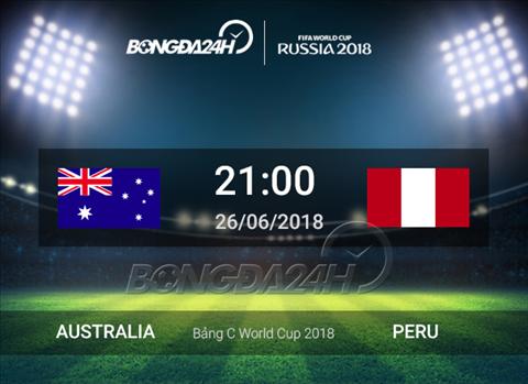 Preview Australia vs Peru