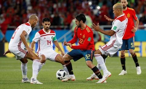 Dư âm Tây Ban Nha 2-2 Marocco Đâu rồi bóng dáng nhà vua hình ảnh