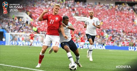 Kết quả Đan Mạch vs Pháp trận đấu bảng C World Cup 2018 hình ảnh 3