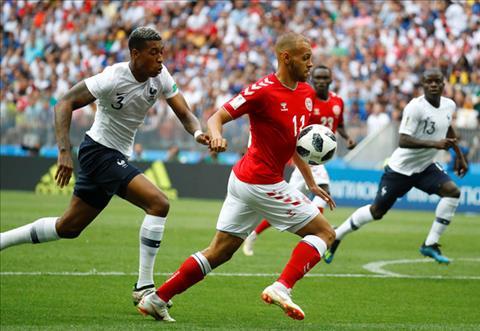 Kết quả bóng đá Đan Mạch vs Pháp bảng C World Cup 2018 tối qua hình ảnh