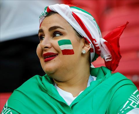 Những hình ảnh ấn tượng về CĐV nữ Iran tại World Cup 2018 hình ảnh