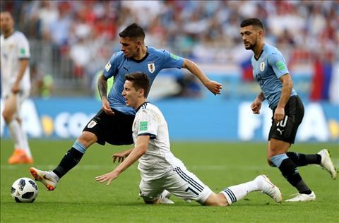 Uruguay vs Nga Torreira