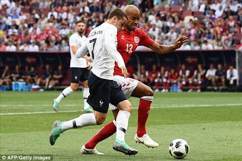 Griezmann tỉnh bơ trước những tiếng la ó trận Đan Mạch 0-0 Pháp hình ảnh